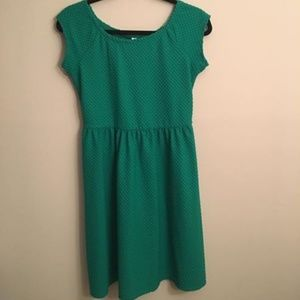 Xhilaration Kelly Green Dress